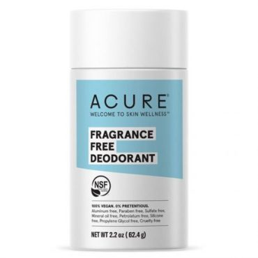 Acure Deodorant Stick - Fragrance Free