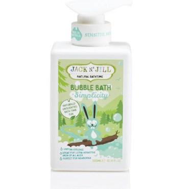 Children Love Health Jack N' Jill Natural Bathtime Bubble Bath Simplicity