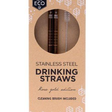 Ever Eco Rose Gold Straws
