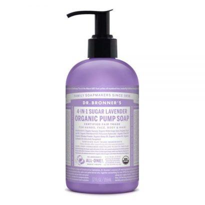 Dr. Bronner's Organic Pump Soap - Lavender