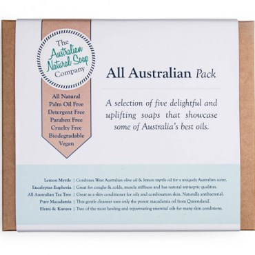 The ANSC All Australian Gift Pack of Soaps