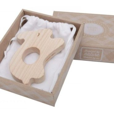 Wooden Story Rabbit Maple Wood Teether