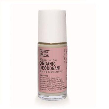 Organic Deodorant Roll On Rose & Frankincense