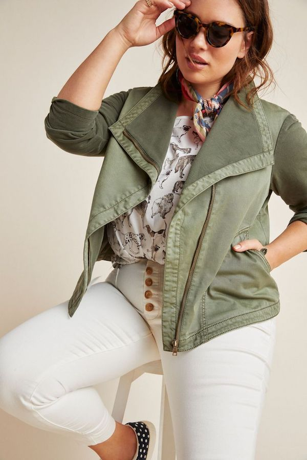 UNRULY | 21 of the Cutest Plus-Size Spring Jackets
