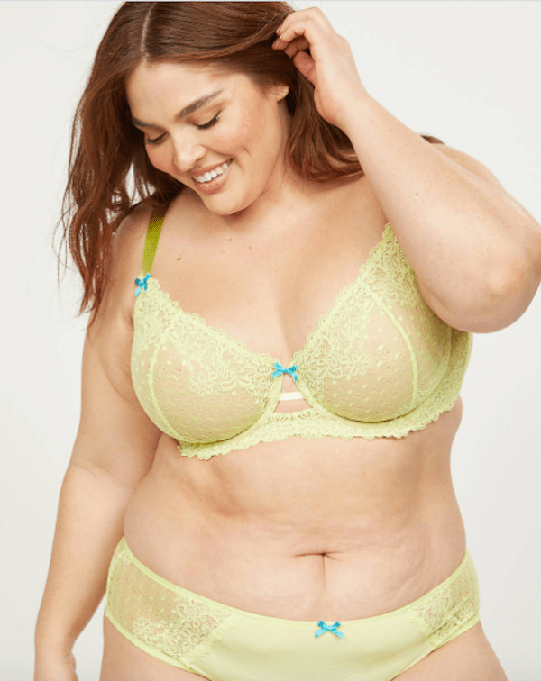 light green bra