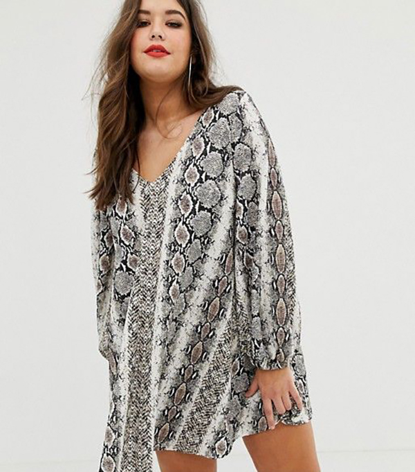 UNRULY | 2019's Snake Print Trend Is Still Going Strong—and It's Available in Plus Sizes
