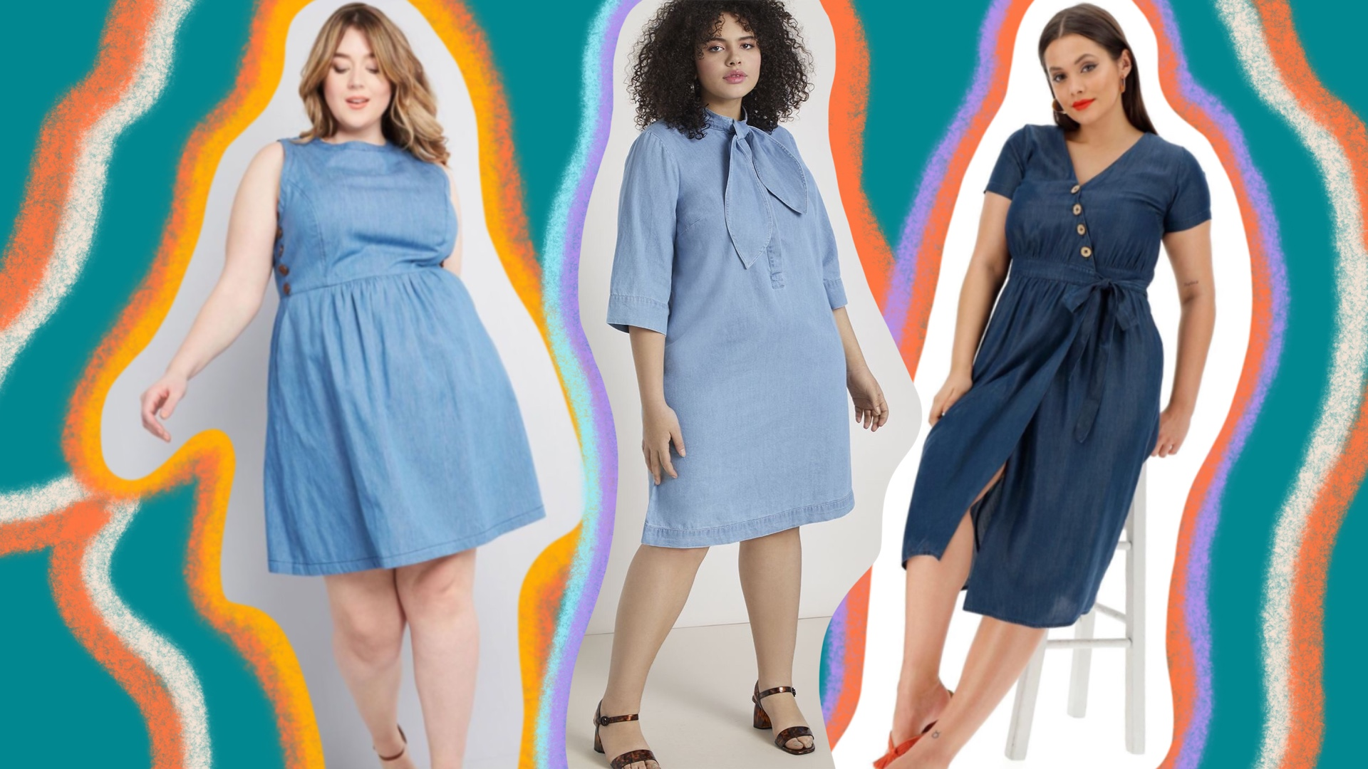 Plus-Size Denim Dresses Are an Absolute Must-Have for Summer | unruly