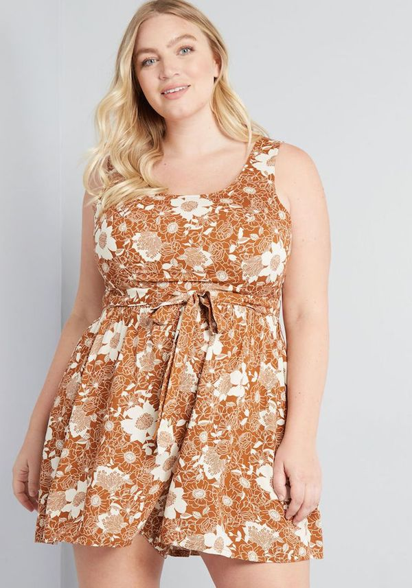 UNRULY   Chic Plus-Size Rompers to Shop, Because It's Warm Out There, Baby