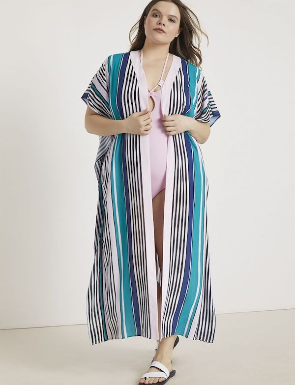 UNRULY | Plus-Size Swim Coverups That Are Beyond Cute