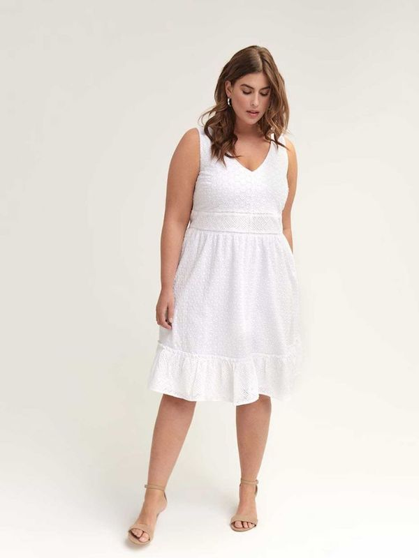UNRULY | 19 Plus-Size White Dresses Perfect for Any Summer Party