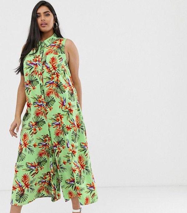 UNRULY   Plus-Size Tropical Print Clothes