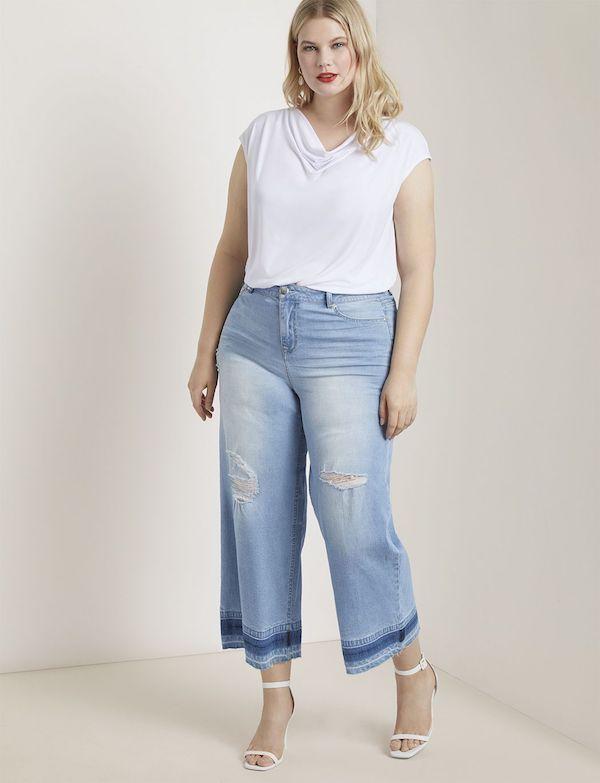 UNRULY | Cute Plus-Size Wide-Leg Pants