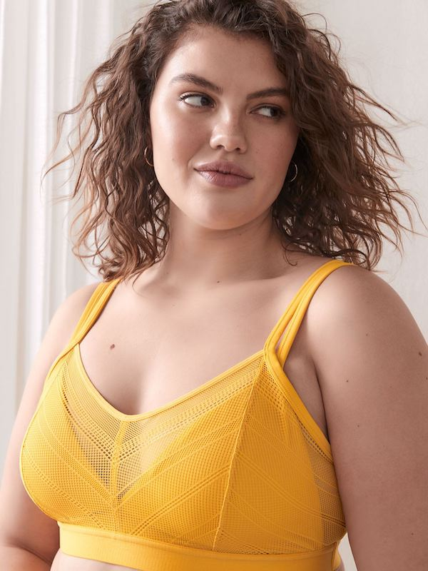 Addition Elle Mustard Bralette