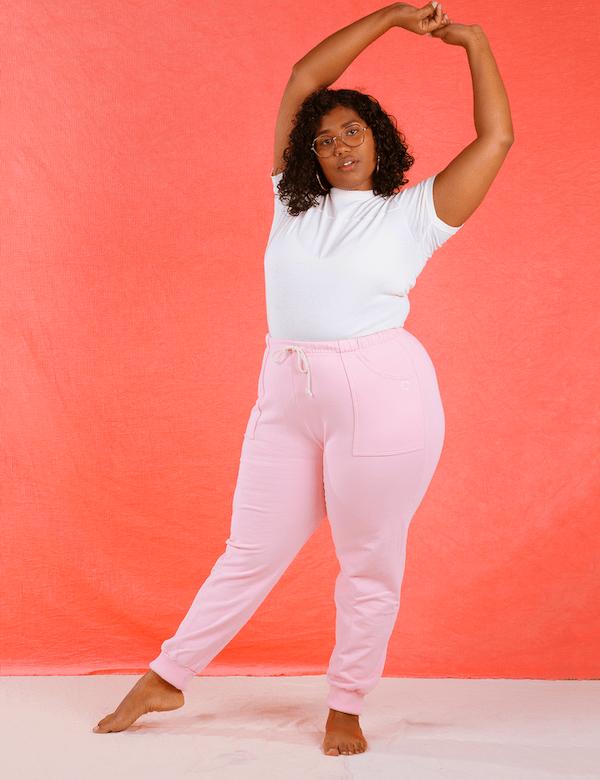 Pink Sweatpants Big Bud Press