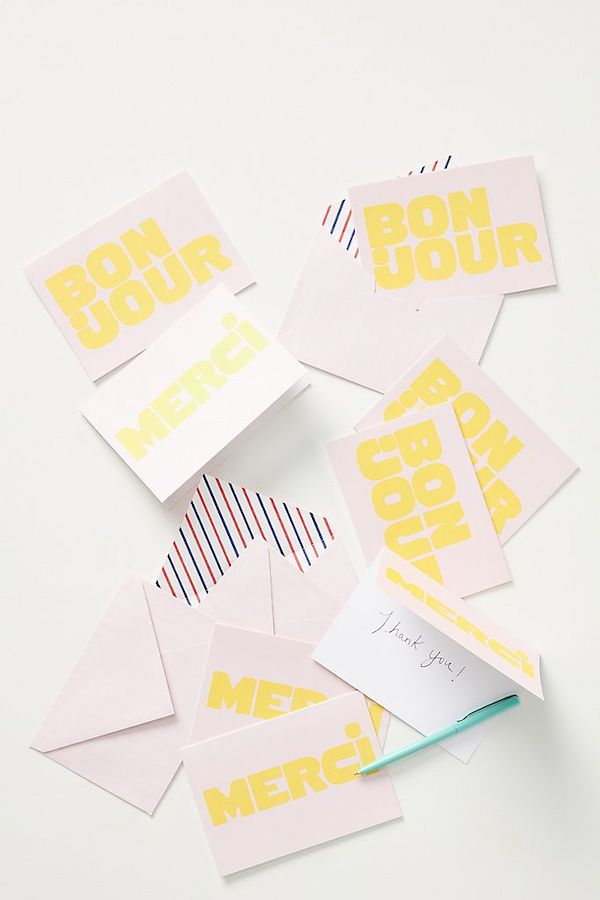 French Sayings Notecards