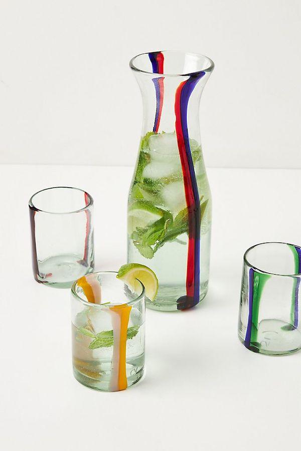 Various Glass Tumblers