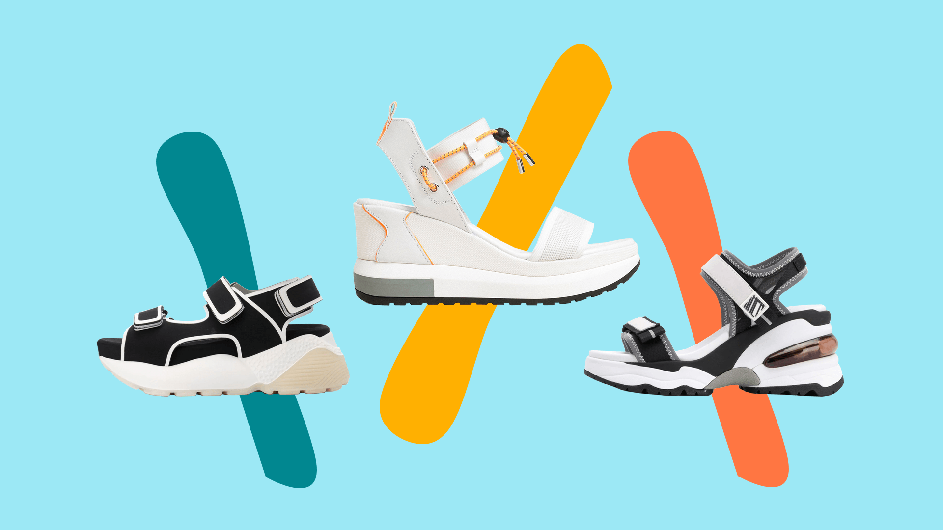 Sneaker-Sandals Might Just Be Summer's
