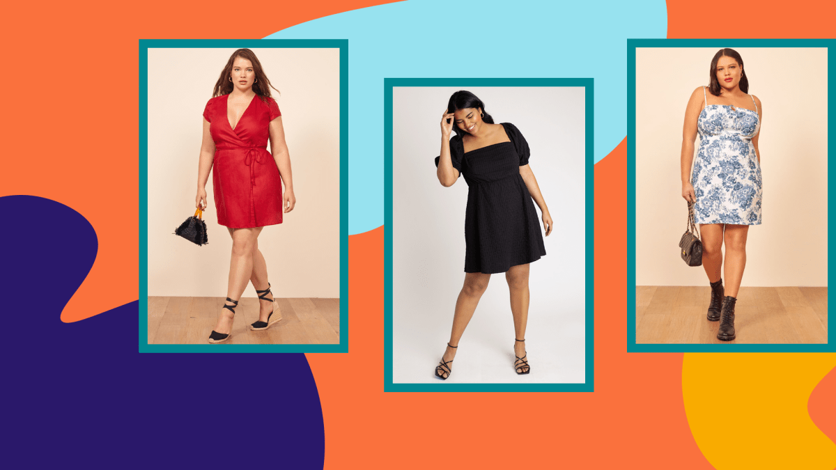 Plus-Size Mini Dresses