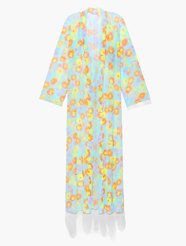 A floral robe from Savage x Fenty.