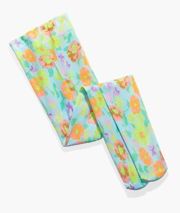 A floral pair of pantyhose from Savage x Fenty.
