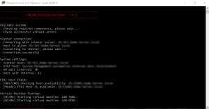 PowerCLI 6.5 - Start-VM problem solved