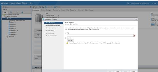 vSphere Client - working again