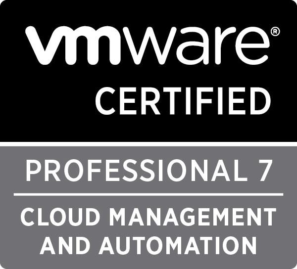 VMware VCP7-CMA Badge