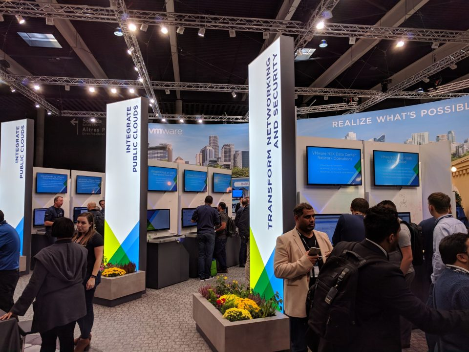 VMware 2018 EU - VMware Booth