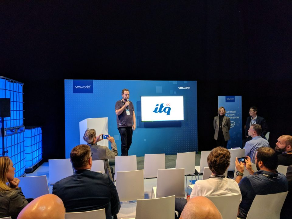 VMworld 2018 EU - Ruurd Keizer Sharing Experience about using VMware Pivotal Container Service (PKS)