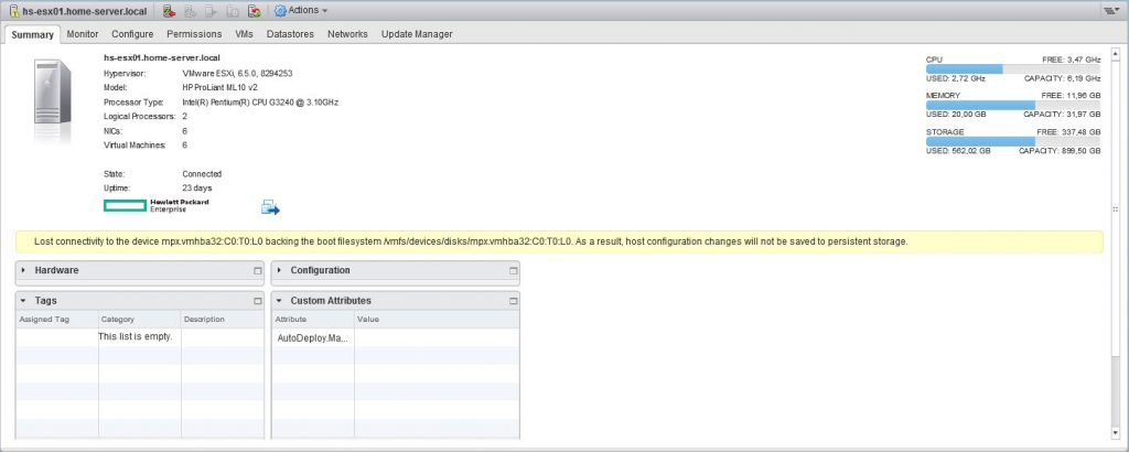 VMware ESXi SATADOM Boot Device - Be-Virtual net