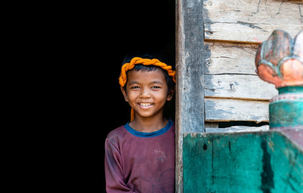 Smiling boy - the picture of Cambodia