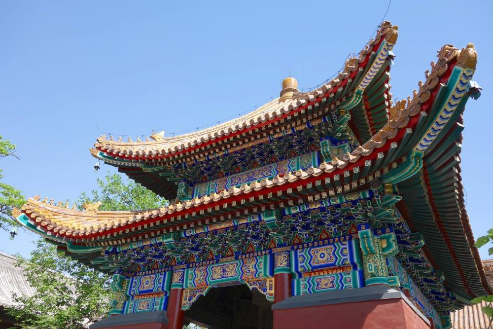 Beijing is a fusion of old and new, Lama Temple being a great example of old