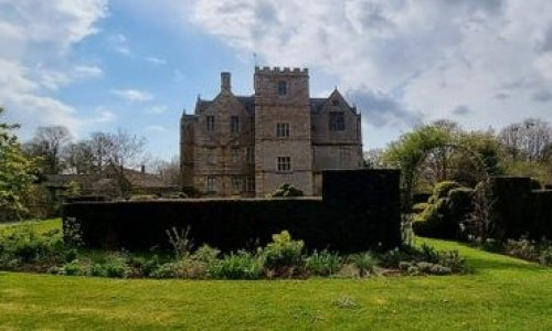 Image of Chastleton House taken from the garden. A great day out accessible by bike or on foot from Moreton in Marsh.