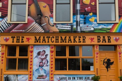 A real matchmaker bar in Lisdoonvarna where they have a matchmaking festival each year