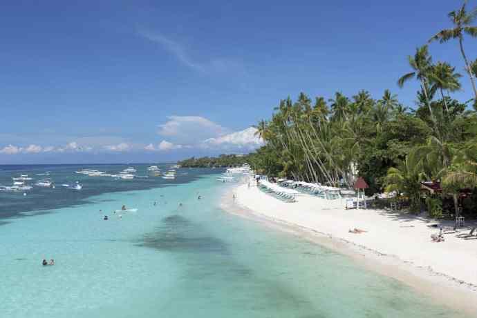 praias das filipinas panglao