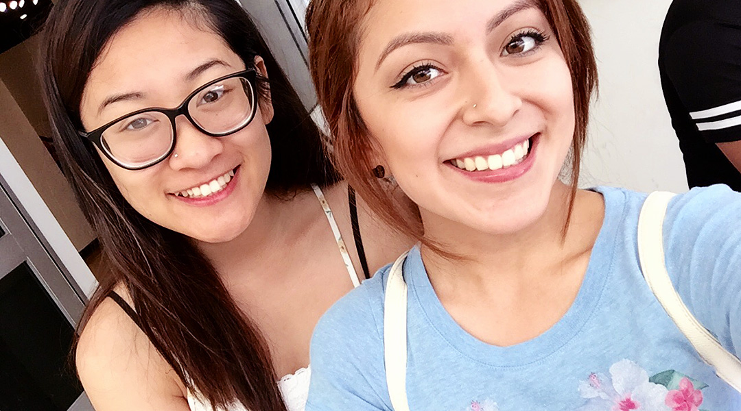 Janelle Reyes & Lizbeth Rangel at the School of Art, Art Gallery Complex, California State University Long Beach, College of the Arts