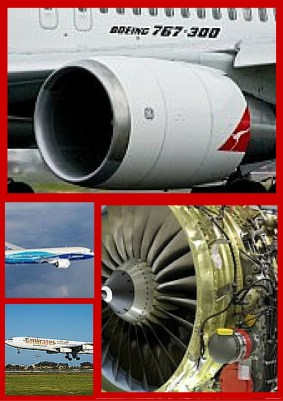 Airplane engine and airframe components for sale