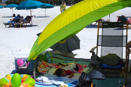gecko beach and picnic blanket review