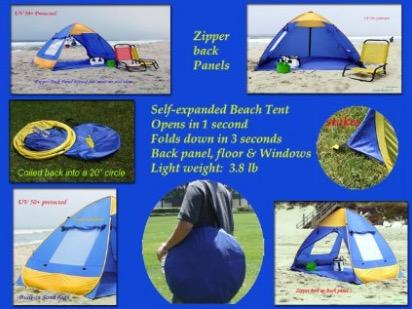 genji sports pop up family beach tent review