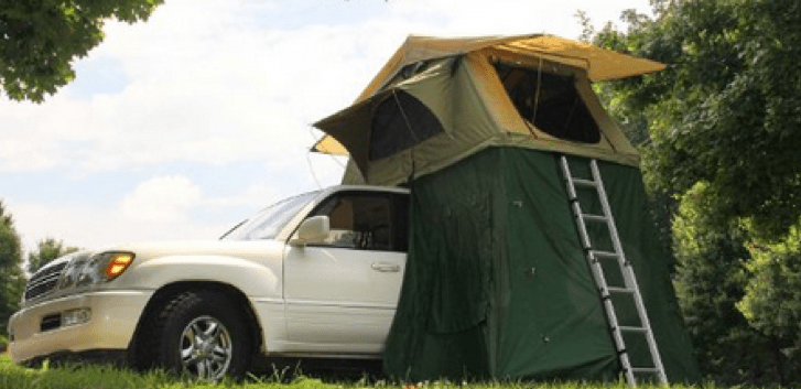 rooftop camping tents