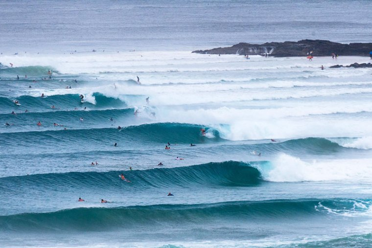 snapper rocks australian surf spot