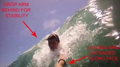 Body-Surfing-Technique