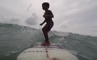 becoming a surfer
