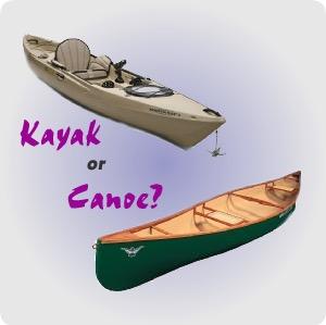 canoe vs kayak differences