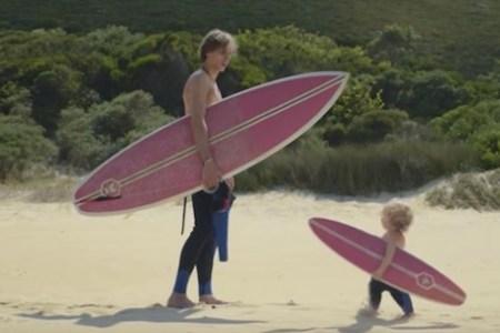 babies surfing