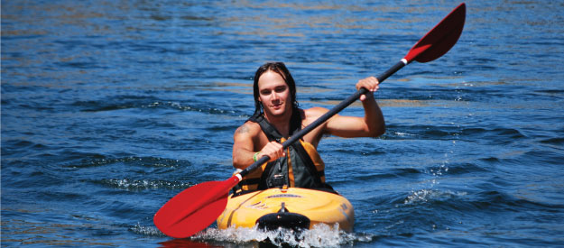 how to paddle in a kayak