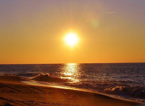 madagh beach sunset