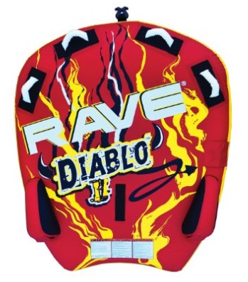 RAVE Sports 02318 Diablo II 2-Rider Towable review