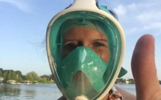 snorkel mask full face seaview 180