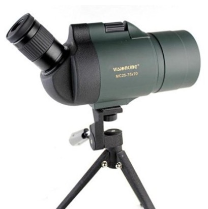 Visionking 25-75x70 Maksutov 100% Waterproof Bak4 Spotting scope w Tripod review